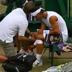 rodilla inflamada con dolor